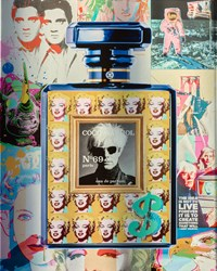 Coco Warhol  by Diederik Van Apple -  sized 31x39 inches. Available from Whitewall Galleries